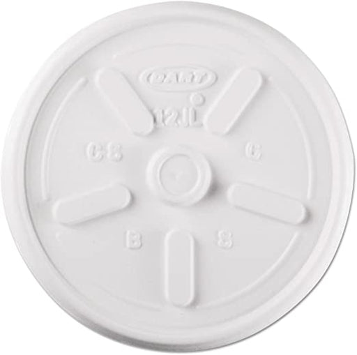 Foam Cup Lid 12oz 12JL DR10/100 - P3, Paper Plastic Products Inc.