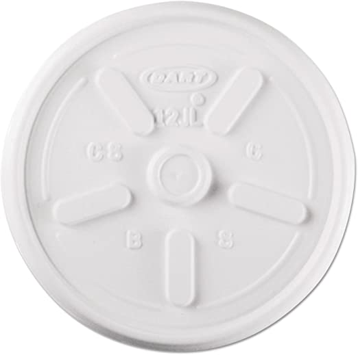 Foam Cup Lid 8oz 8JL DR 10/100 - P3, Paper Plastic Products Inc.