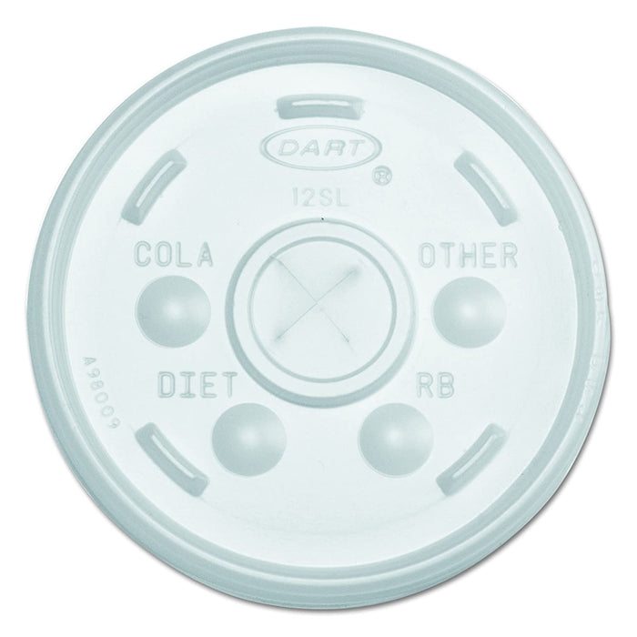 Foam Cup Lid 12oz 12SL 10/100 - P3, Paper Plastic Products Inc.