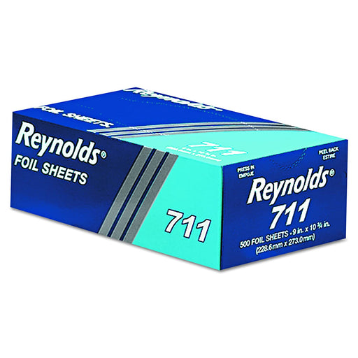 Foil Sheets 9x10x3-4 6/500 - P3, Paper Plastic Products Inc.