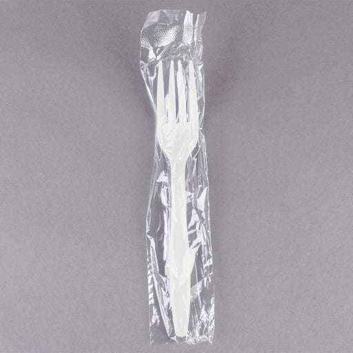 Forks Wrapped White 1/1000 - P3, Paper Plastic Products Inc.