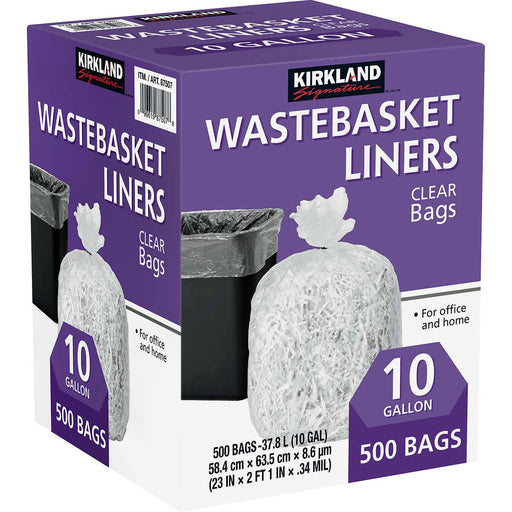 Garbage Bag 10gal KS 1/500 - P3, Paper Plastic Products Inc.