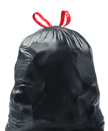 Garbage Bag Black Q/Tie 12/15/1 - P3, Paper Plastic Products Inc.