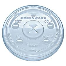 Eco-Plastic Lids 12oz  20/50 - P3, Paper Plastic Products Inc.