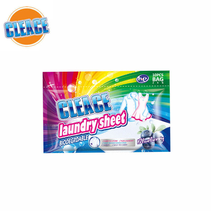 Laundry Sheet Cleace 10PC - P3, Paper Plastic Products Inc.