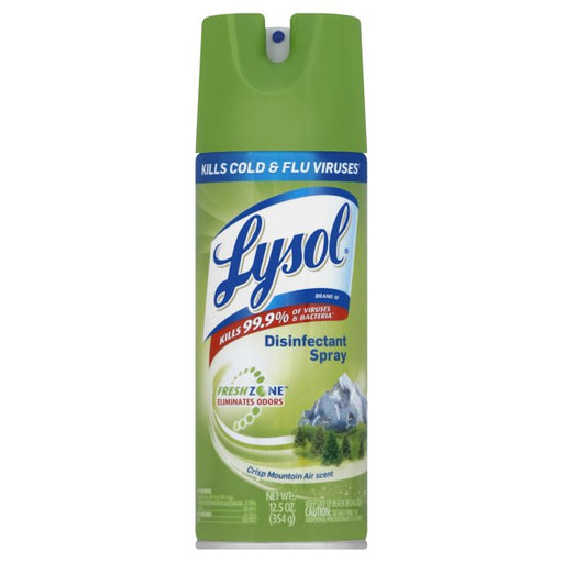 Lysol Crisp Mountain 12/12.5oz - P3, Paper Plastic Products Inc.