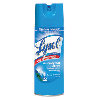Lysol Spray Spr.Water 12/12.5oz - P3, Paper Plastic Products Inc.
