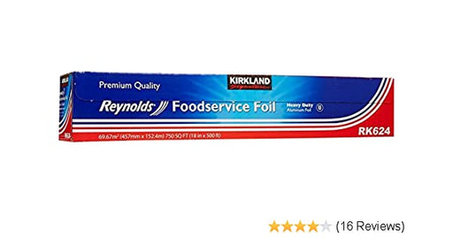 "Foil KS 18""x500ft HD 1/1 - P3, Paper Plastic Products Inc."