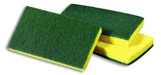 Scrubbing Med Duty Green Sponge - P3, Paper Plastic Products Inc.