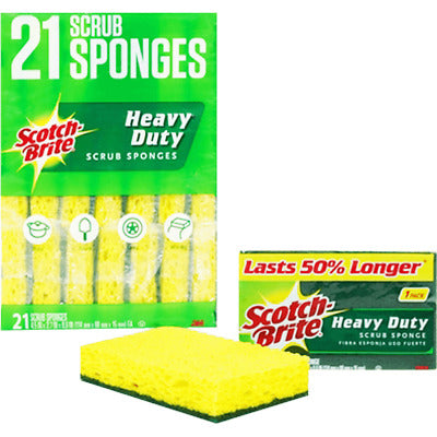 Scrubbing Pad Scotch Brite 1/21 - P3, Paper Plastic Products Inc.