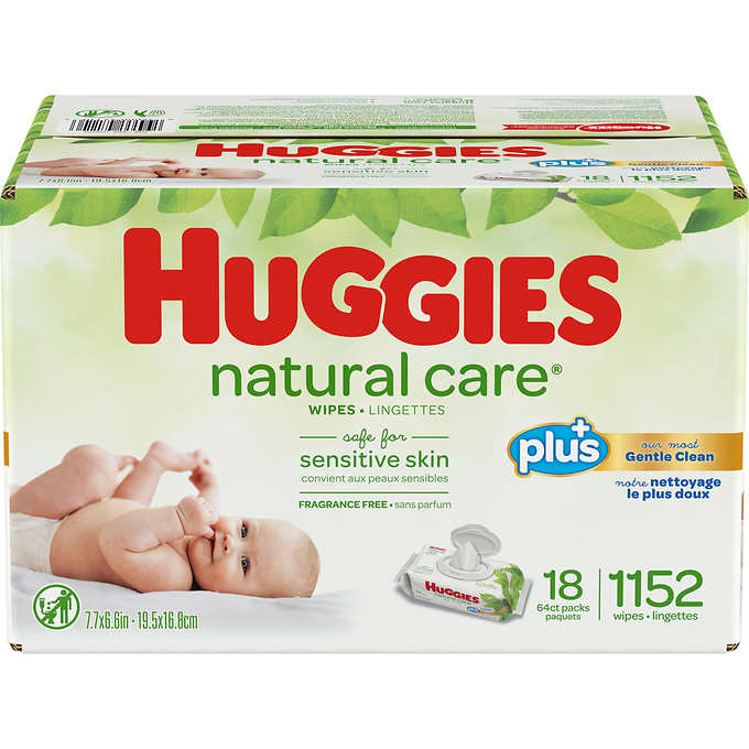 Wipes Diaper Huggies 1/1152ct - P3, Paper Plastic Products Inc.