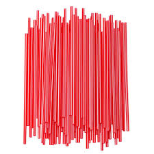 Stirrers Red 10/1000 - P3, Paper Plastic Products Inc.
