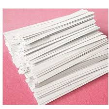 Bread Bags Ties White 1/2000 - P3, Paper Plastic Products Inc.