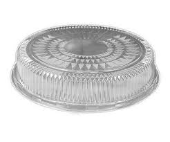 "12"" Catering Dome Lid 1/36 - P3, Paper Plastic Products Inc."