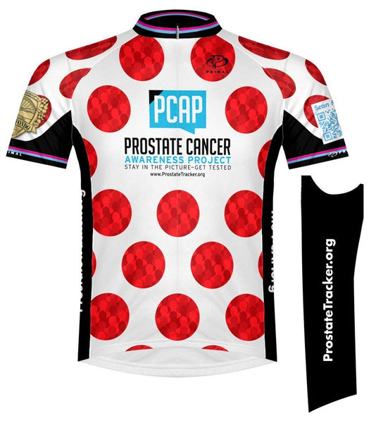 Prostate Cancer Awareness Project King and Queen of the Mountain Cycling Jerseys