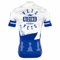 Vets Riding for Vets Jersey (White)