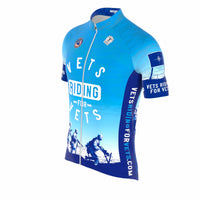 Vets Riding for Vets Jersey (Blue)