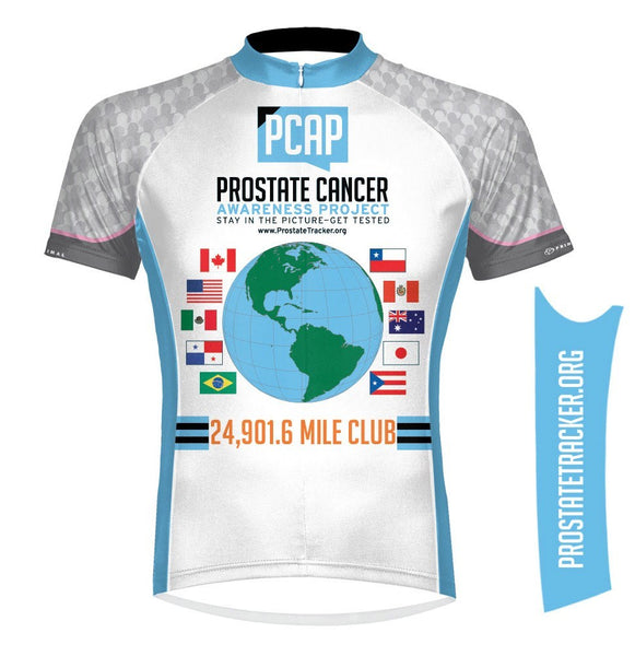 Prostate Cancer Awareness Project Around the World Cycling Jersey