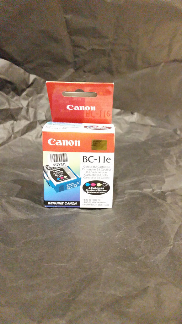 CANON BC 11e Printhead with colour and black ink tanks £15.99 ex vat  last one in stock !