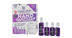 CD hand sanitizer Family Pack