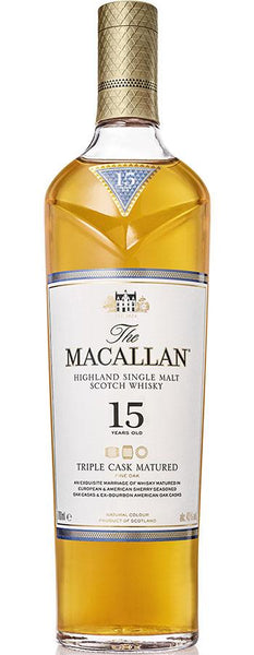 The Macallan 15 yrs Triple Cask