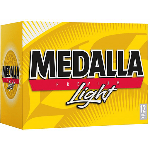 Medalla Light 12 Pack 10 FL OZ.