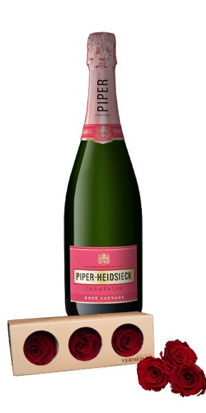 Piper-Heidsieck Rose Sauvage 3 Rosas