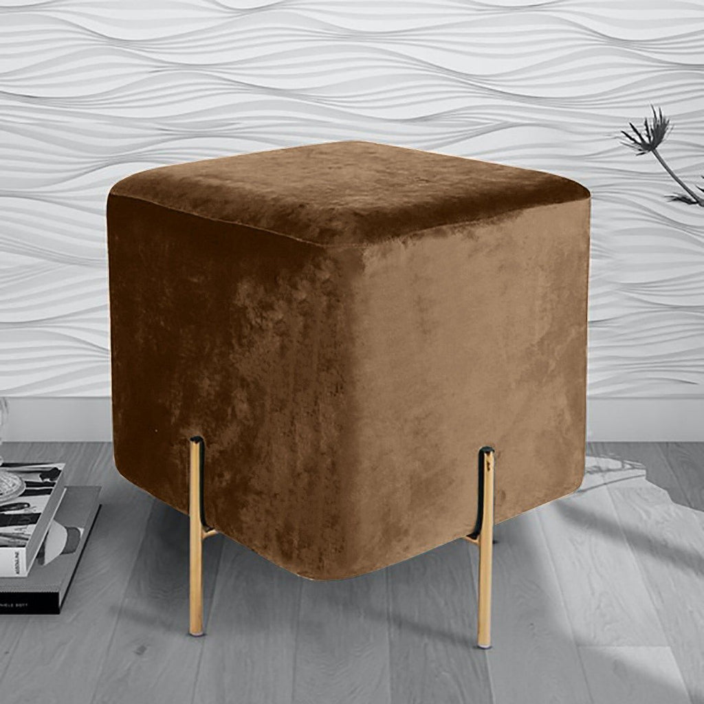 Wooden stool With Steel Stand -210