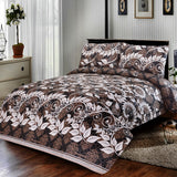 3 Pcs Printed Bed Sheet NB-00220