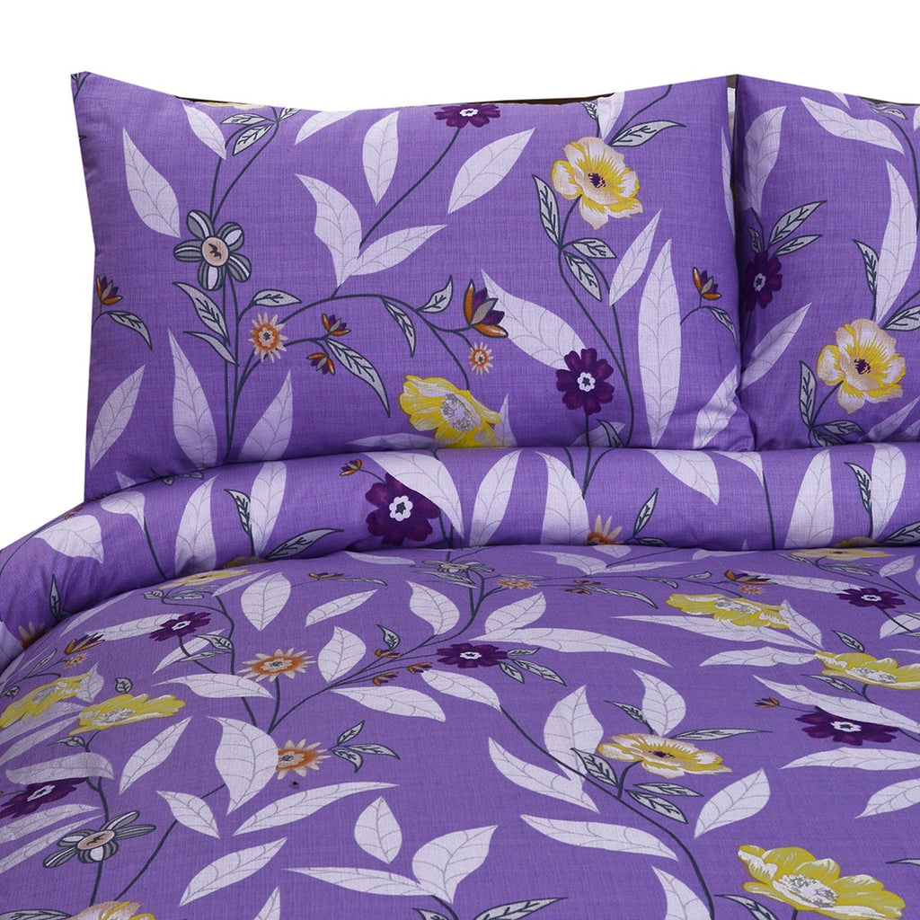3 Pcs Printed Bed Sheet NB-00221
