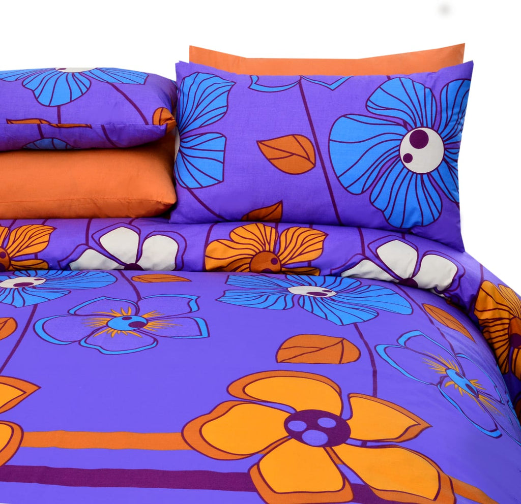 5 Pcs Printed Bed Sheet NB-00283