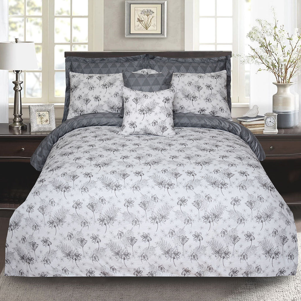 8 PC's Printed Duvet Set NB-08