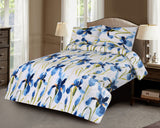 3 Pcs Printed Bed Sheet NB-00274