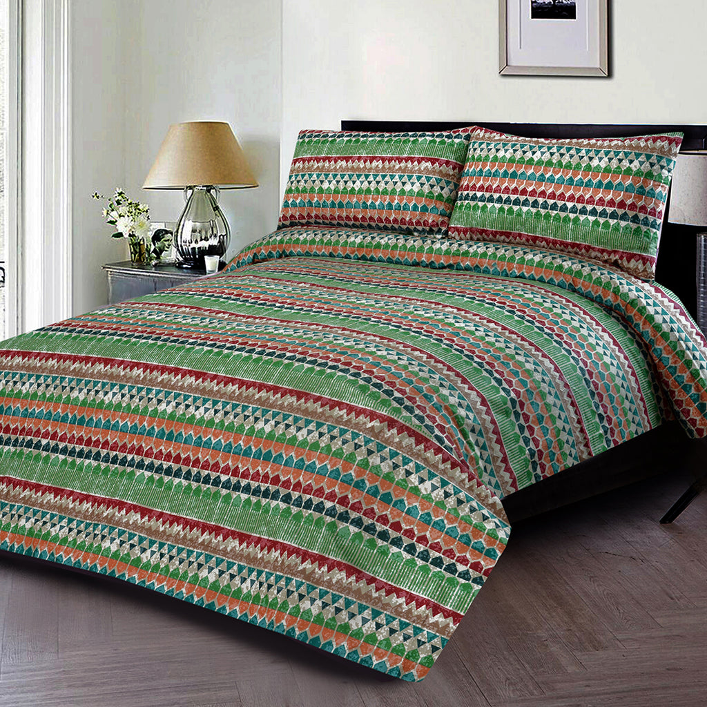 3 PCS PRINTED BED SHEET NB-00235