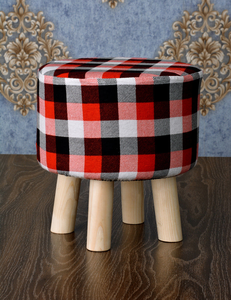 Wooden stool round shape - 118