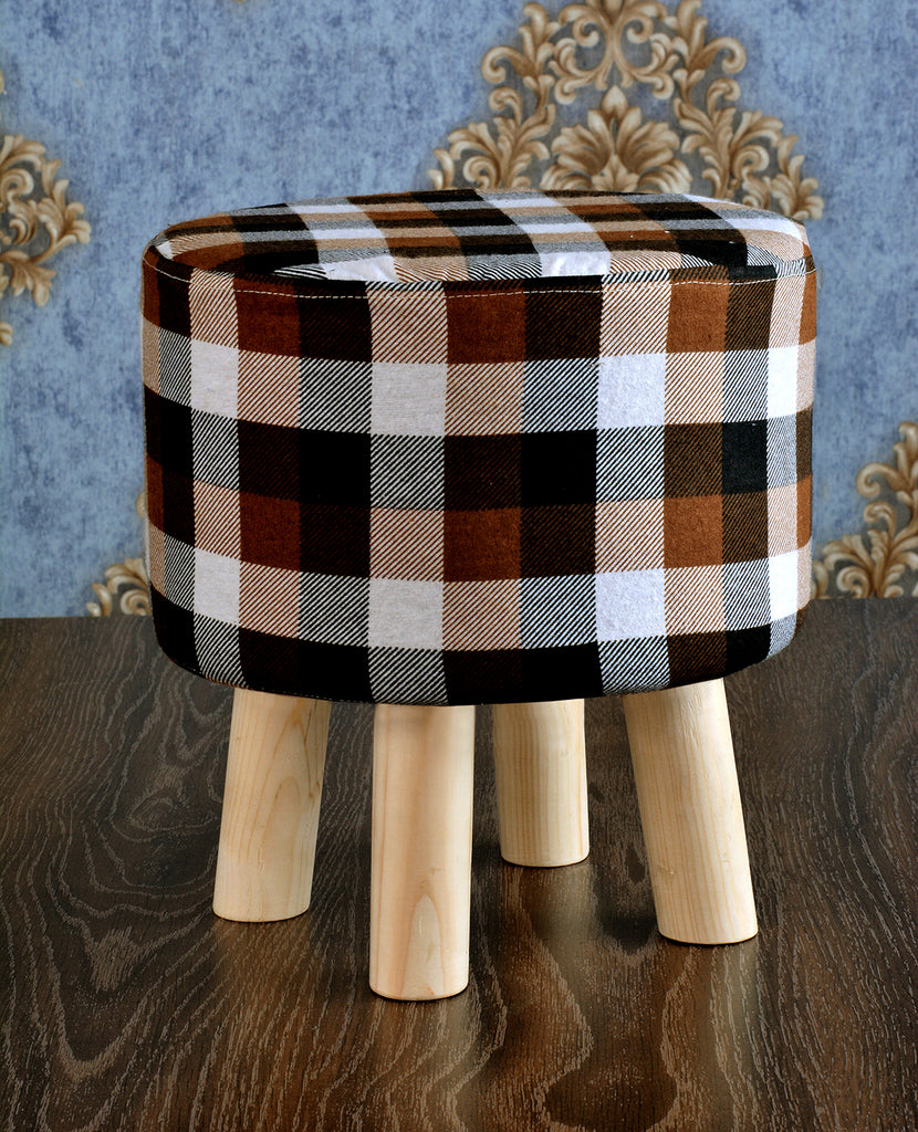 Wooden stool round shape - 122