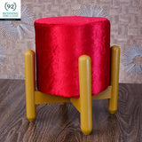 Wooden stool round shape-102