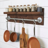 Jars and pans organizer