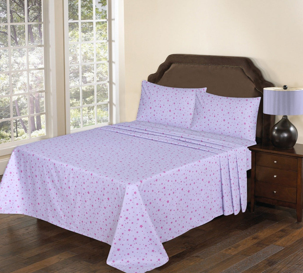 3 Pcs Printed Bed Sheet NB-00259