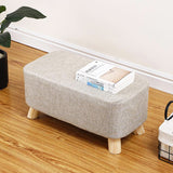 2 Seater Wooden Stool WS-09