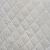 3 Pcs Luxury Escalave Wave Bedspread Cream