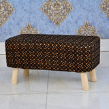 Wooden stool 2 Seater-233