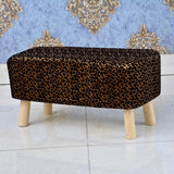 Wooden stool 2 Seater-234
