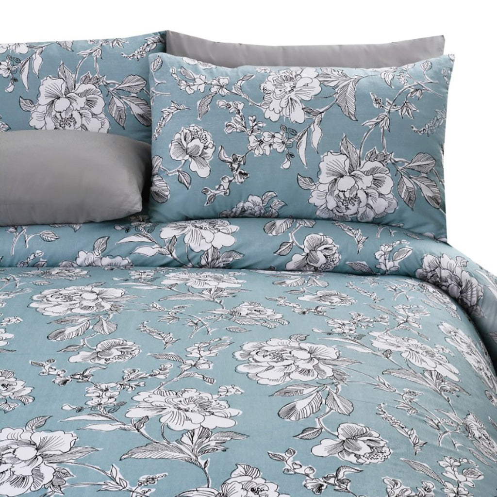 5 Pcs Printed Bed Sheet Plants NB-0351