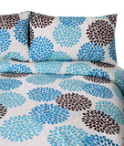 3 Pcs Printed Bed Sheet NB-00275