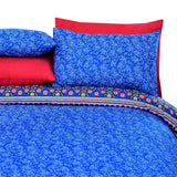 3 Pcs Printed Bed Sheet NB-00277