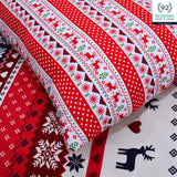 2 Pcs Printed Bed Sheet NB-00304