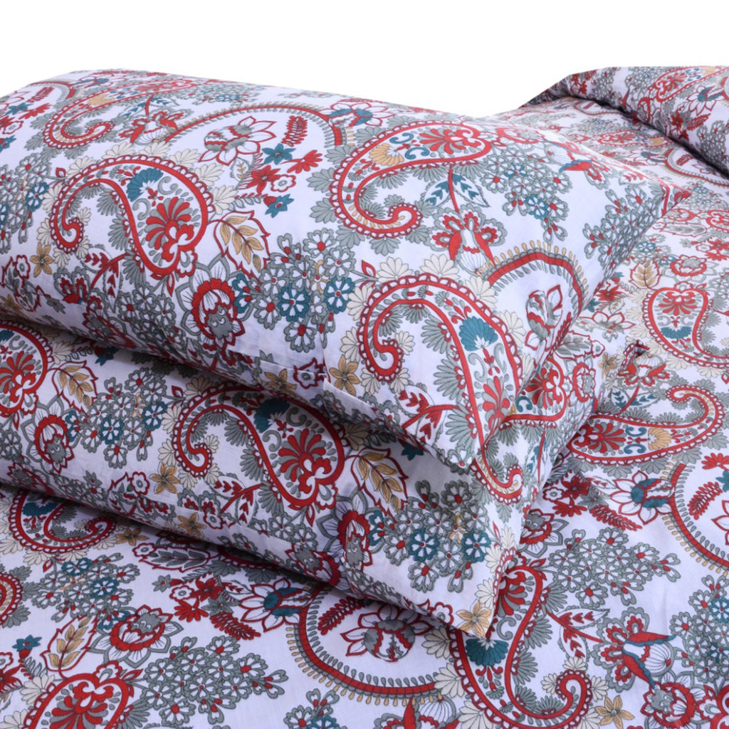 5 Pcs Printed Bed Sheet NB-00308
