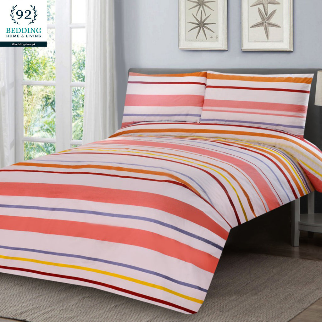 3 Pcs Printed Bed Sheet NB-00314