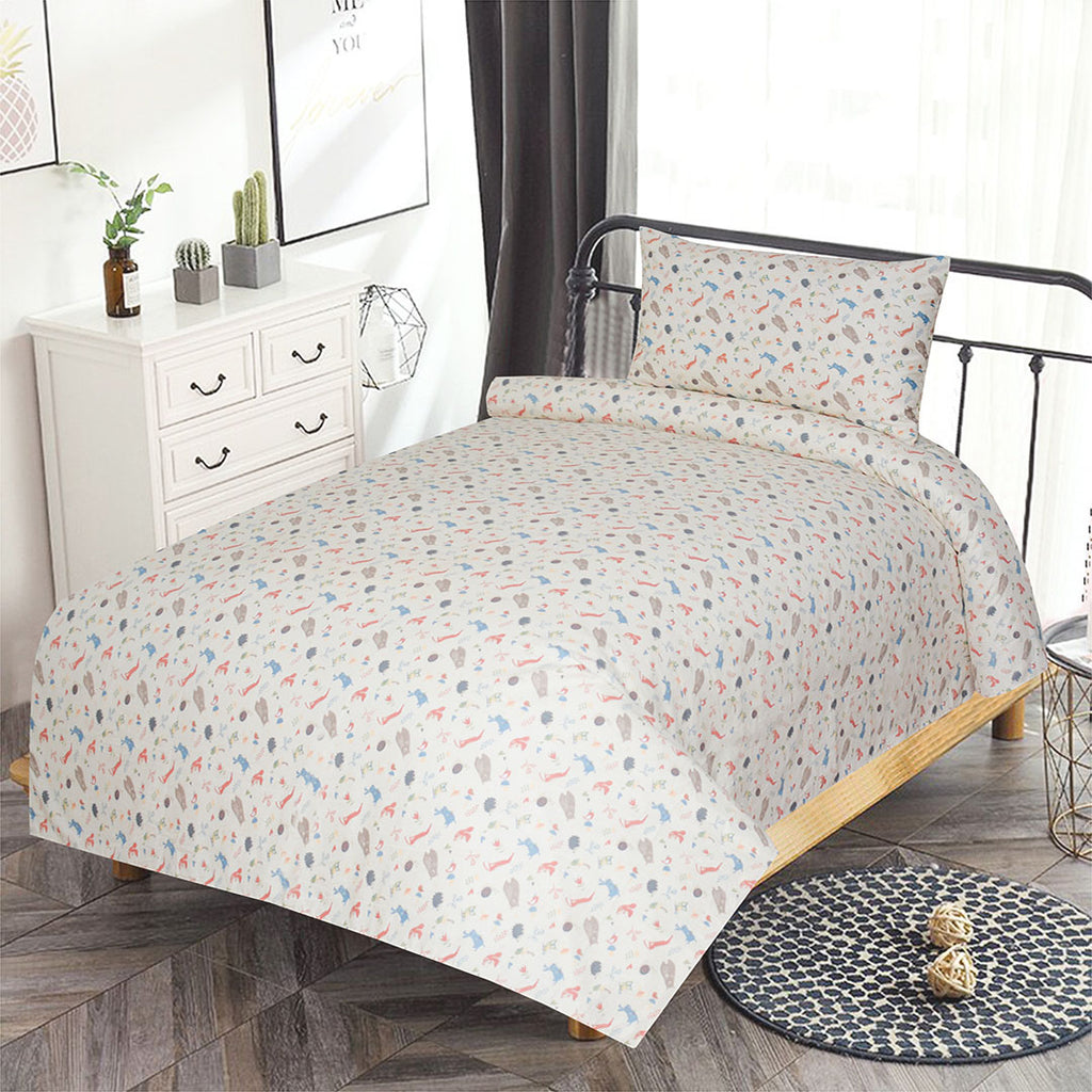Printed Single Bed Sheet PSB-005